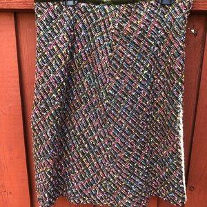 Beautiful multicolor skirt size 12